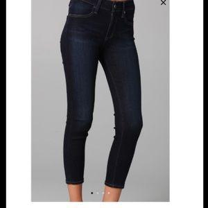 Anthropologie AG Farrah Skinny Crop Jeans